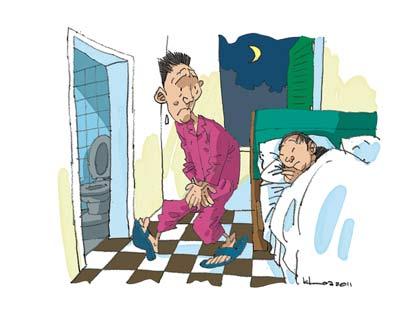 Bệnh đi tiểu đêm nhiều lần 1