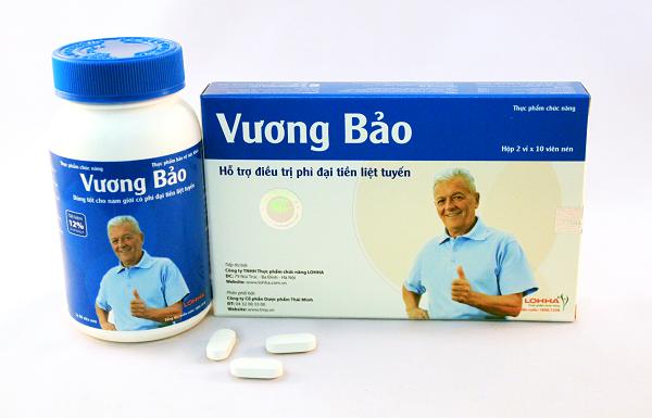 Vương Bảo – Sản phẩm dành riêng cho u xơ tiền liệt tuyến, phì đại tiền liệt tuyến 1