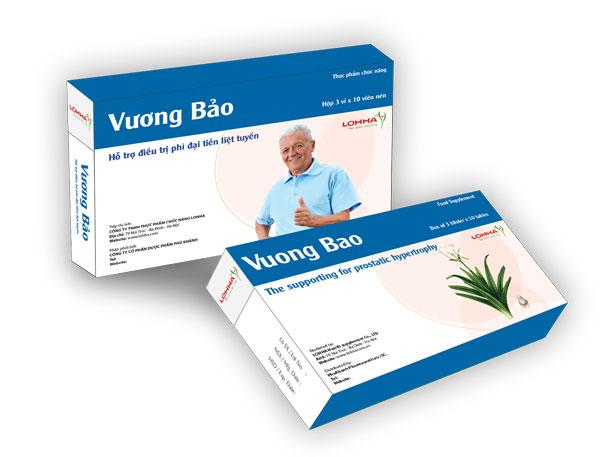 Bị u xơ tiền liệt tuyến: Tại sao lại chọn Vương Bảo mà không phải sản phẩm khác? 1