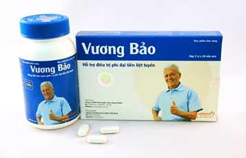Vương Bảo là sản phẩm dành riêng cho bệnh U xơ (phì đại) tiền liệt tuyến hướng tới 2 công dụng: 1