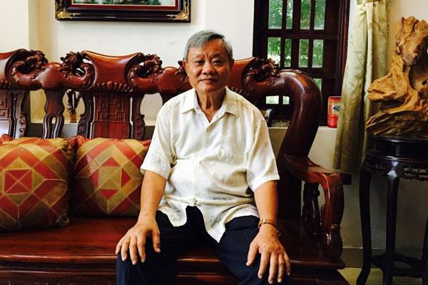 Ông Chúc đã từng 3 năm mất ăn mất ngủ vì chứng tiểu đêm nhiều lần - Ảnh NVCC.